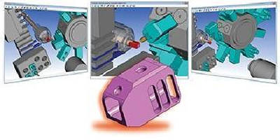 CAM Software supports multi-tasking machine tools.