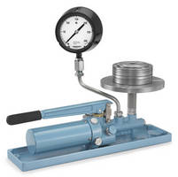 Portable Deadweight Tester calibrates pressure for reliability.