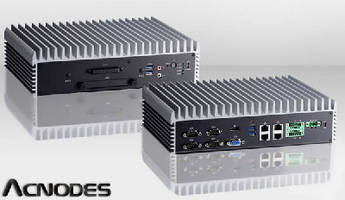 Fanless Embedded Computer operates from -40 to 158°F.