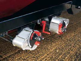 Variable Ratio Transmissions dispense seed and fertilizer.