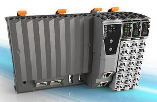 Controllers with Integrated I/O support unlimited expansion.