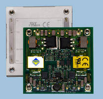Half-Brick DC/DC Converters feature 24 or 48 Vdc input bus.