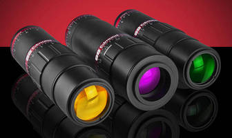 Variable Laser Beam Expander provides continuous magnification.