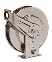 Stainless Steel Hose Reels serve corrosive, sanitary environments.