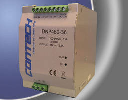 AC/DC Power Supplies offer 480 W regulated output power.