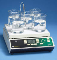 Programmable Digital Stirring Hot Plate has 5 stirring positions.