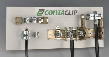 Shielded Clips accelerate connections in low interference systems.
