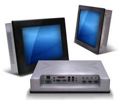 Fanless Touch Panel PC leverages Intel Atom processor.