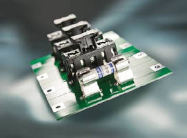 Touch-Safe Cover inserts and extracts 10.3 x 38 mm fuses.