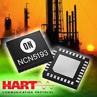 HART CMOS Modem IC serves industrial communications applications.