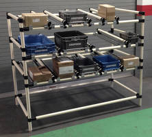 Heavy-Duty Flow Racks combine rugged design and flexibility.