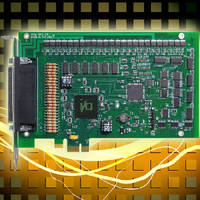 PCI Express I/O Card provides 24 isolated digital inputs.