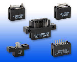 Card Edge Connectors suit 0.031, 0.062, and 0.093 in. boards.