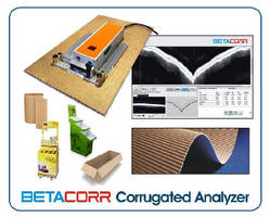 Corrugated Analyzer helps minimize packaging defects.
