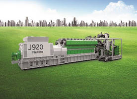 Gas Engine offers electrical efficiency of 49%.