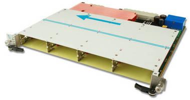 AdvancedTCA Carrier Board holds 4 AMC modules.
