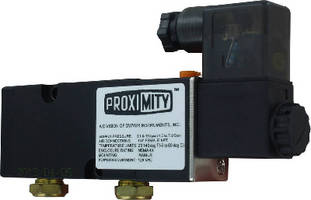 Solenoid Valves feature manual override.