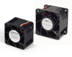 DC Axial Cooling Fans target OEM applications.