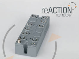 I/O Modules with reACTION Technology minimize cycle times.