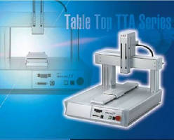 Tabletop Robots support cell production applications.