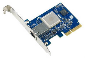 Network Interface Card is powered by Tehuti TN4010 processor.