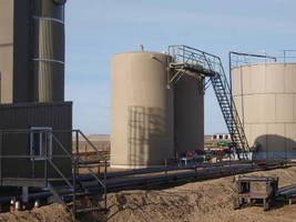 Fiberglass Tanks target oil and gas exploration markets.