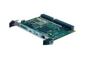 Rugged 6U VPX SBC combines processing power, graphics, security.