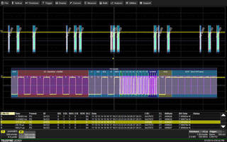 CAN FD Rate Trigger/Decode Software expands automotive testing.