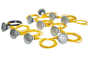 LED String Lights suit temporary lighting applications.