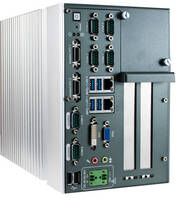 Fanless Embedded System affords flexibility via expansion.