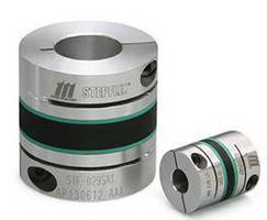 Shaft Coupling eliminates resonance problems in ball screws.