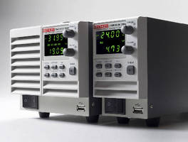 Programmable DC Power Supplies provide battery simulation.