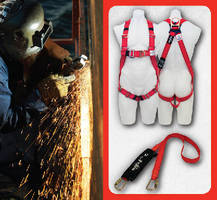 Fall Protection Equipment resists fire and sparks.