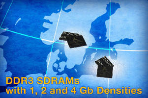 CMOS DDR3 SDRAMs offer clock rates of 800 MHz.