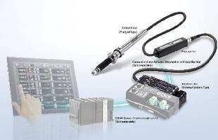 Communications Amplifier  transmits inspection data.