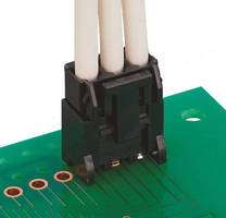 Compact Wire-to-Board Connector offers high current capacity.