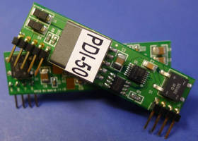 Embedded PoE PD Module offers high DC/DC conversion efficiency.