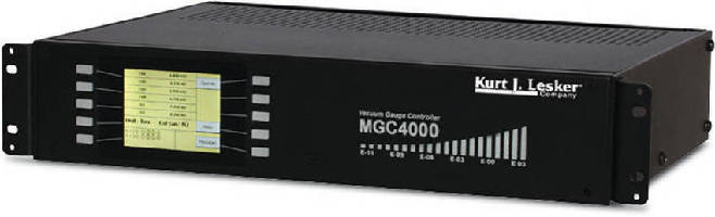 Multi-Gauge Controller displays 10 pressure measurements.