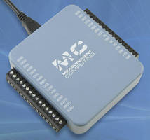 Multifunction 16-Bit DAQ Devices sample at rates up to 100 kS/s.