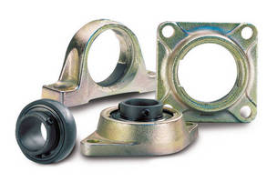 High-Temperature Bearing Units are self-lubricating and drip-free.