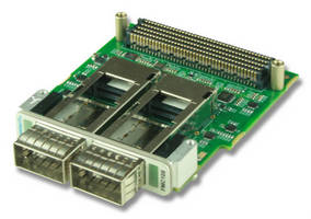 FPGA Mezzanine Cards suit network interface applications.