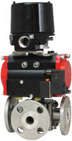 Stainless Steel Ball Valves utilize direct mounting actuators.