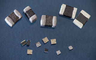 Compact NTC Chip Thermistors operate up to +150C.