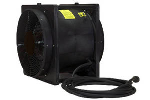 Portable Explosion Proof Box Fan provides 4,450+ cfm output.