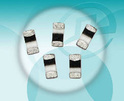 Multilayer Ceramic Chip Inductors feature low DC resistance.