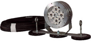 Magnetic LED Light Fixture operates in hazardous locations.