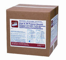 Floor Cleaner comes in 38 lb lined case.