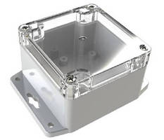 NEMA 4X Plastic Enclosures suit indoor/outdoor applications.