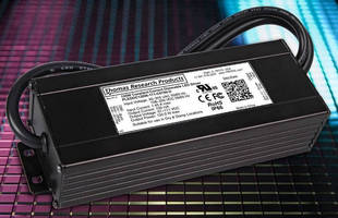 High Wattage LED Drivers readily accept DC or AC input.