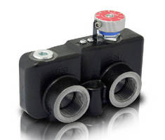 Hydraulic Valve regulates motor or cylinder speed.